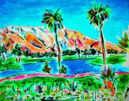 Palm Springs 14x11 / 2007