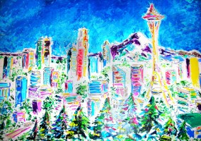 Seattle 24x18 / 2010