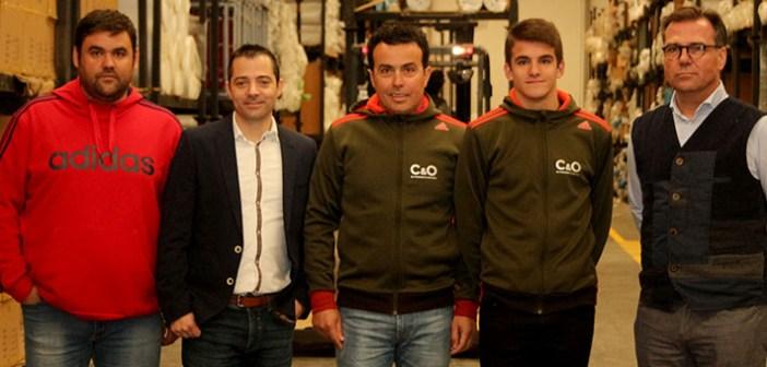 El Equipo C&O Sports, al completo en las instalaciones de Cabanes & Ortuño