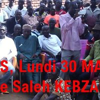 Annonce: Conf Presse de M. Kebzabo, Paris 30 mai