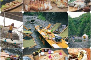 | 美食 |花蓮秘境美食。一同在山溪中享受野餐的樂趣吧! 溪畔餐桌/溪畔町