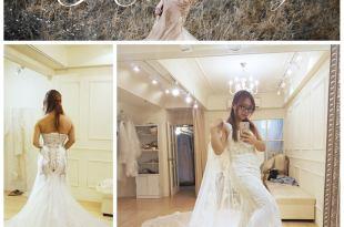 |Wedding|CP值超高的小資婚紗。JE wedding 婚紗禮服試穿10套紀錄