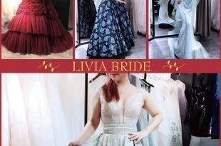 │Wedding│精緻華麗歐美風格。穿出屬於自己個性的時尚感! LIVIA BRIDE莉維亞歐美頂級手工婚紗