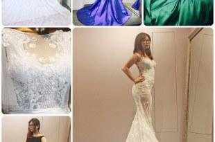 │Wedding│詮釋曲線美的蕾絲裸紗,歐美禮服經典試穿 S。SPOSA高級手工訂製婚紗