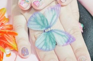 [美甲]–【台北車站】華麗彩繪大理石的凝膠美甲。Yuna Nail Studio羽奈美甲