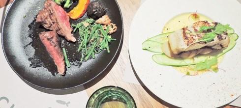 食記◎--【台北車站 京站牛排】朵頤排餐館。慶生就帶媽咪去吃精緻的七品套餐!