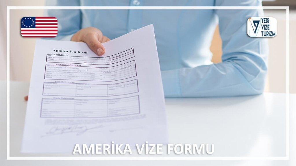 Vize Formu Amerika