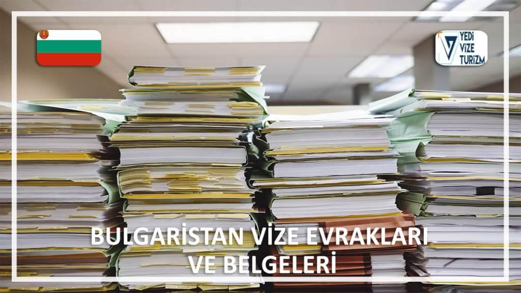 Vize Evrakları Ve Belgeleri Bulgaristan