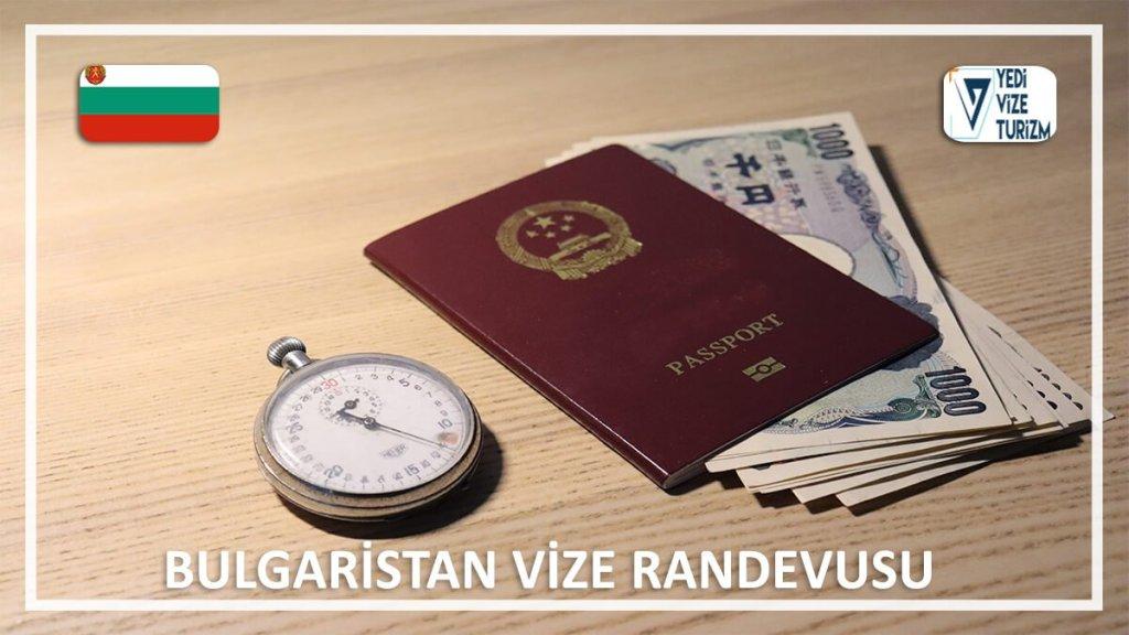 Vize Randevusu Bulgaristan