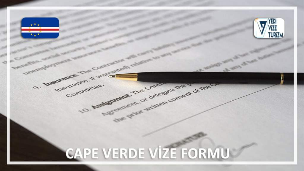 Vize Formu Cape Verde