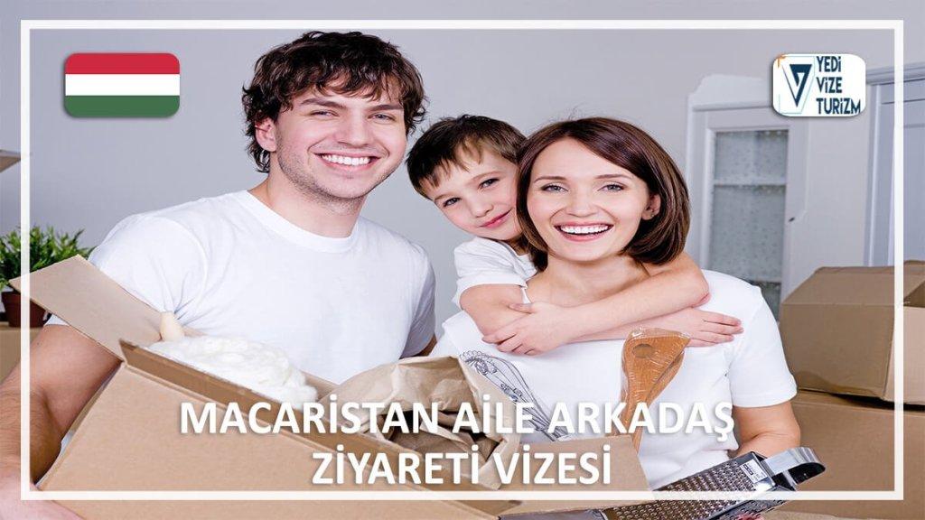 Aile Arkadaş Ziyareti Vizesi Macaristan