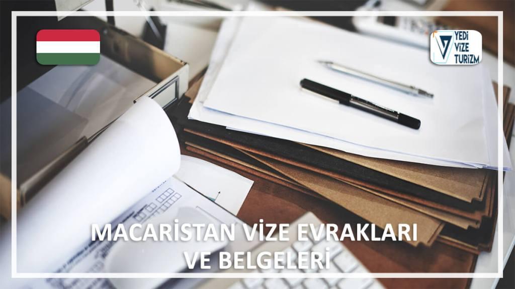 Vize Evrakları Ve Belgeleri Macaristan