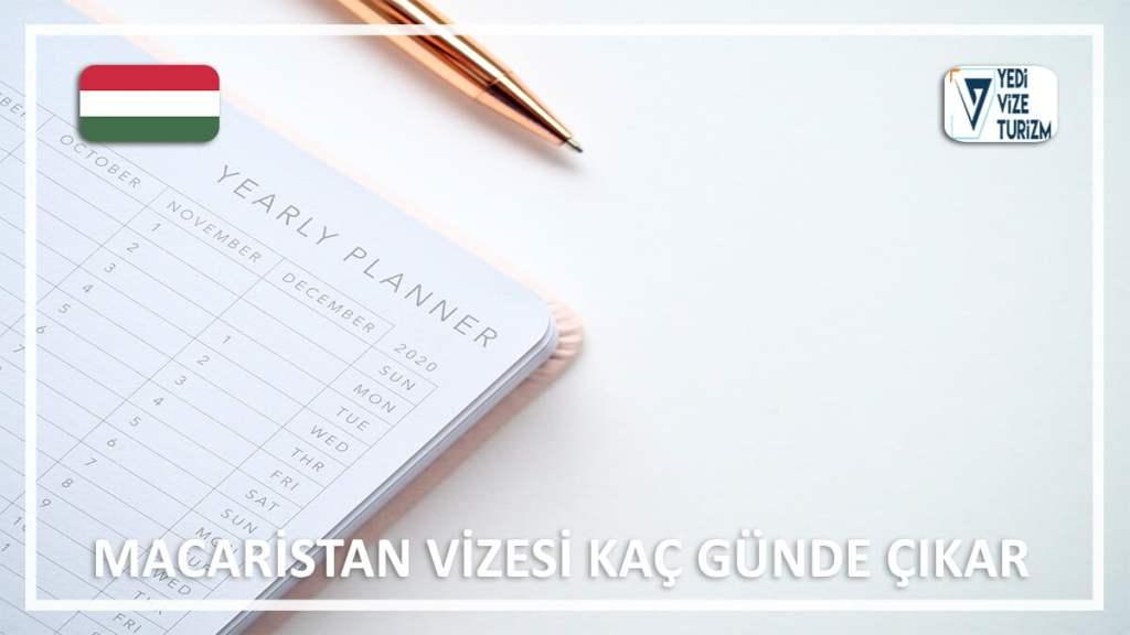 Vizesi Kaç Günde Çıkar Macaristan