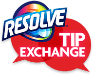 Getting Tough on Stains with Resolve Tip Exchange #ResolveTip
