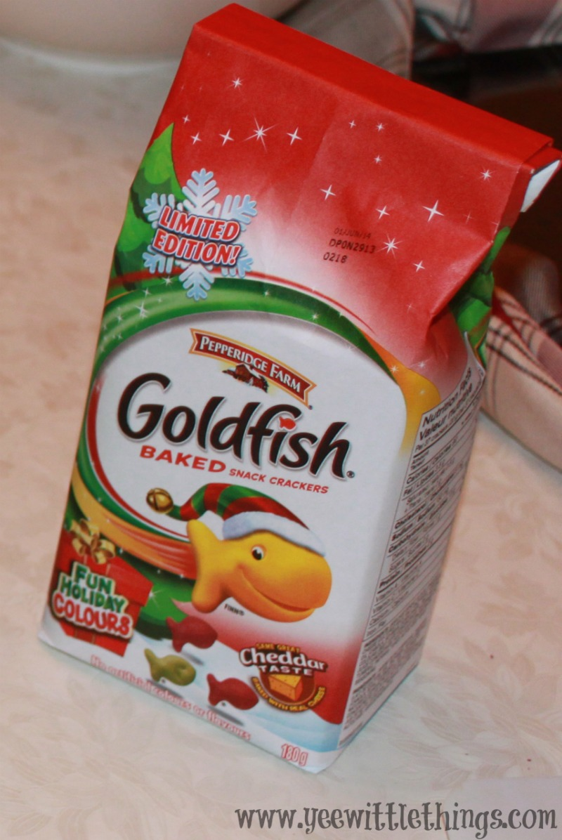 Holiday Fun With Goldfish & Pepperidge Farm #GoldfishMoments ...