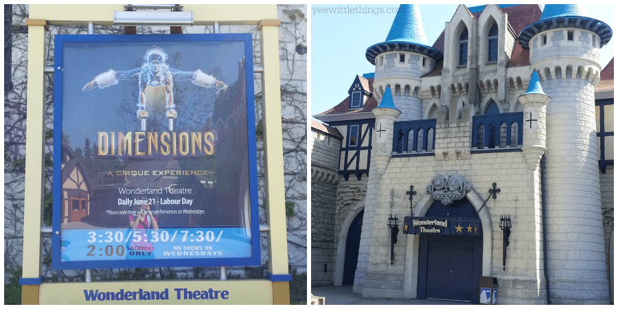 Dimensions: A Cirque Experience
