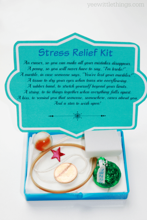 DIY Stress Relief Kit
