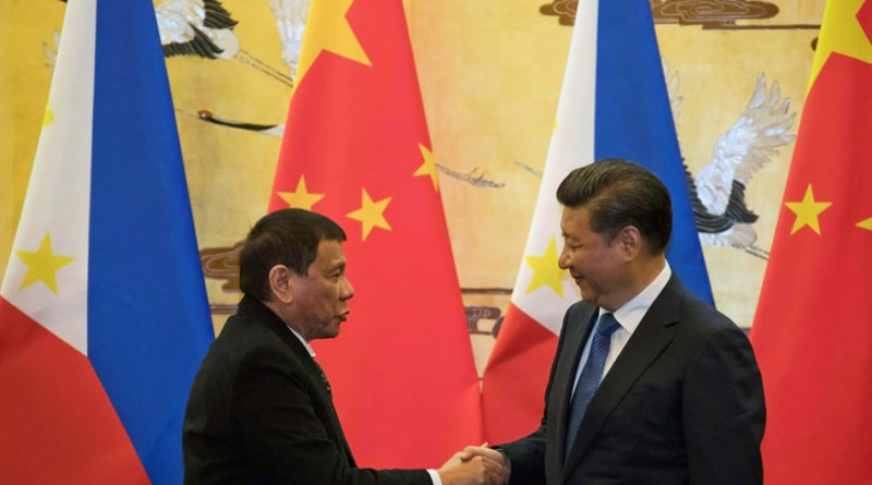 Duterte: China warned PH of war over South China Sea. Photo by ABS-CBN