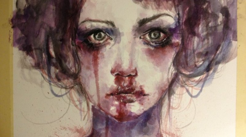 Painting – Unknown Girl