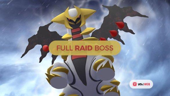 Full Raid Boss List for Pokemon Go - Yehiweb