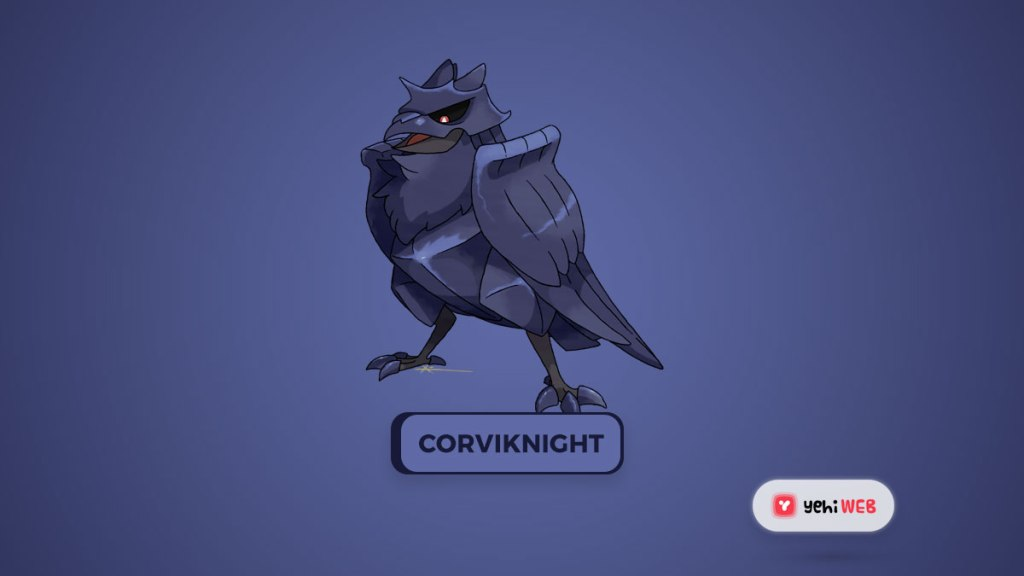 Corviknight Most Powerful Dual-Type Pokémon of the 8th Generation, Ranked Yehiweb