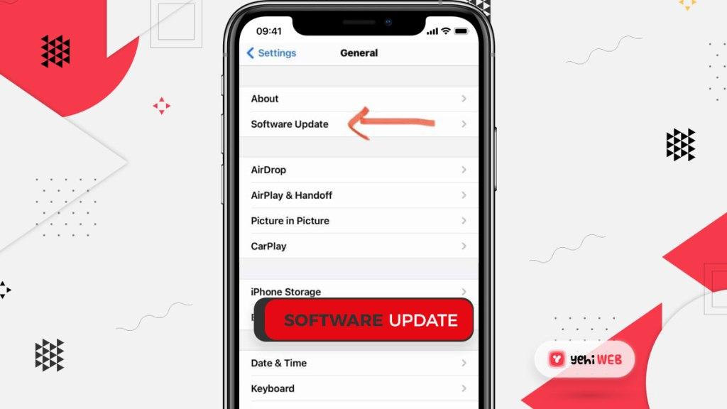 Software Update Yehiweb
