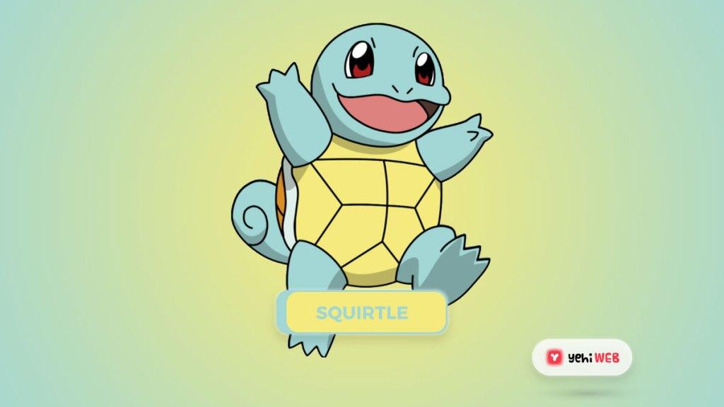 Squirtle pokemon yehiweb