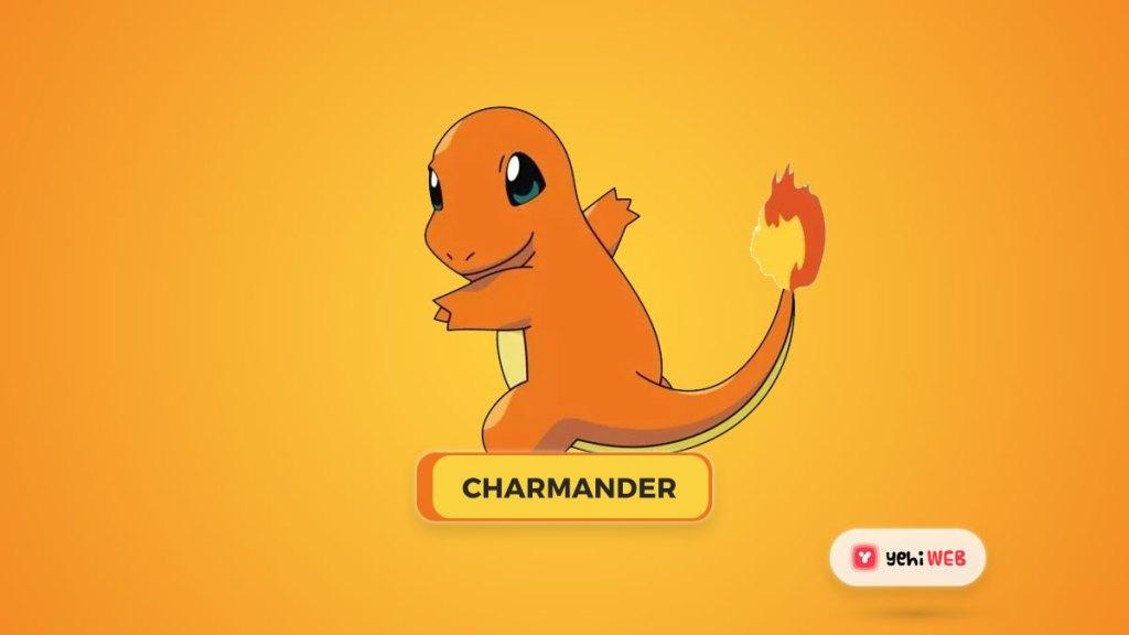 charmender pokemon yehiweb