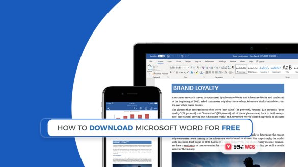 How to Download Microsoft Word For Free Yehiweb