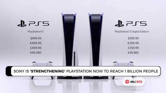 Sony is 'strengthening' PlayStation Now in order to reach 1 billion people Yehiweb