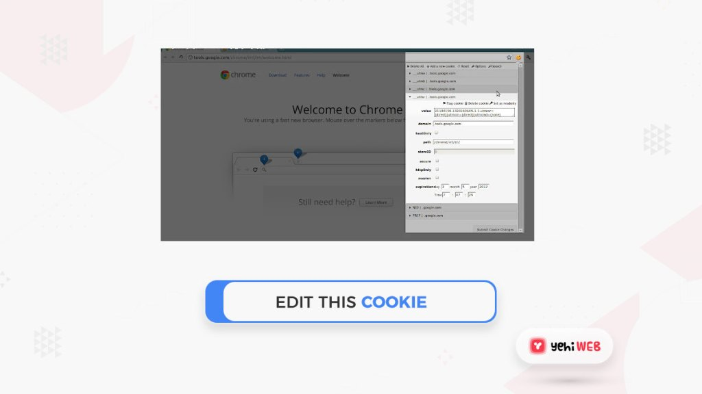 edit this cooking google chrome extension yehiweb