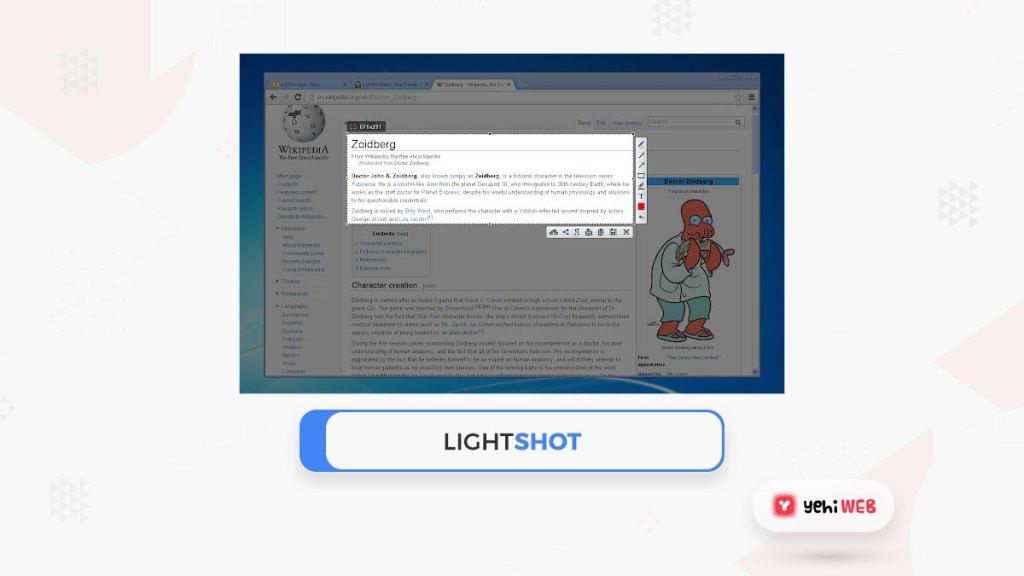 lightshot googtle chrome extension yehiweb