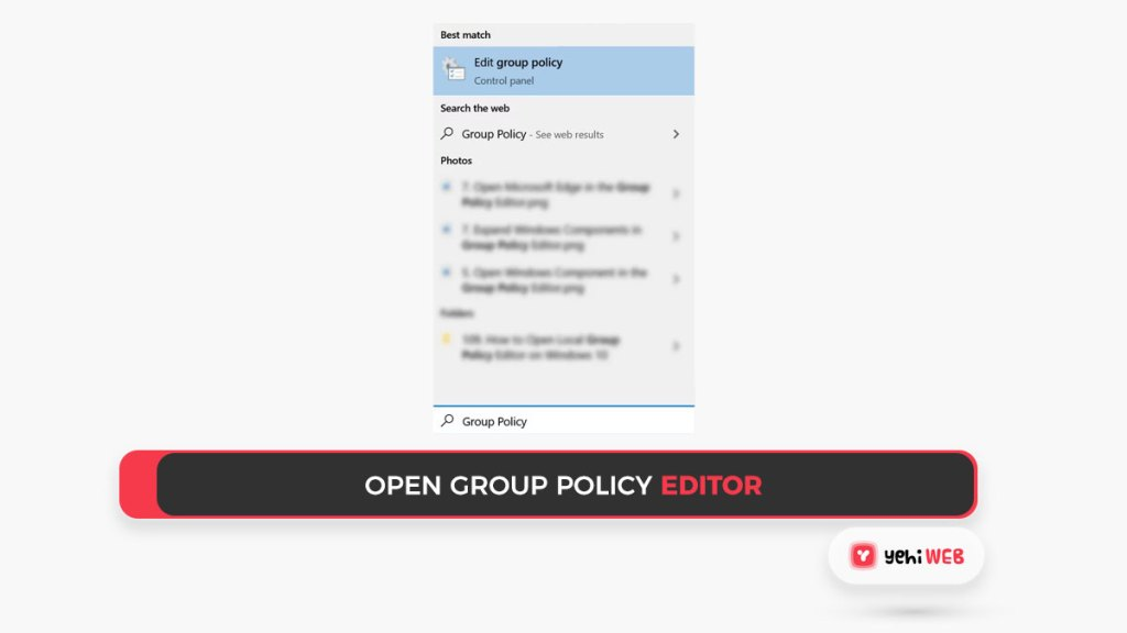 open group policy editor yehiweb
