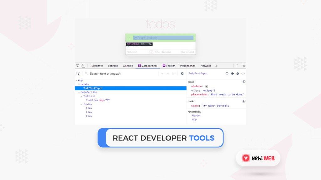 react developer tools google chrome extensions yehiweb