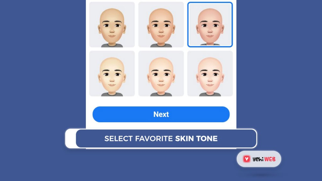 select favorite skin tone facebook yehiweb