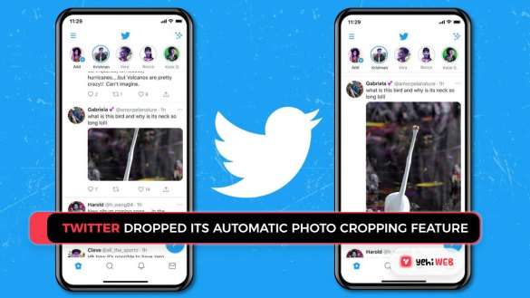 twitter dropped its automatic photo cropping feature Yehiweb