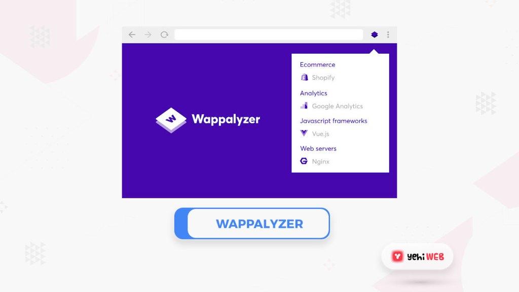 wappalyzer yehiweb