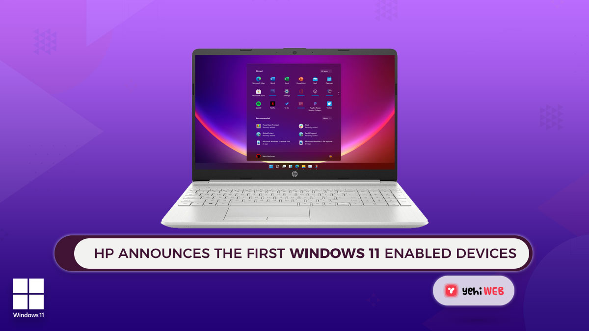 HP Announces the First Windows 11 Enabled Devices