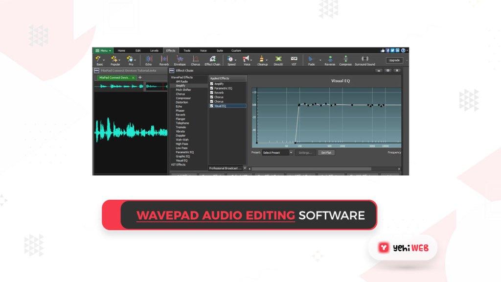WavePad Audio Editing software Yehiweb