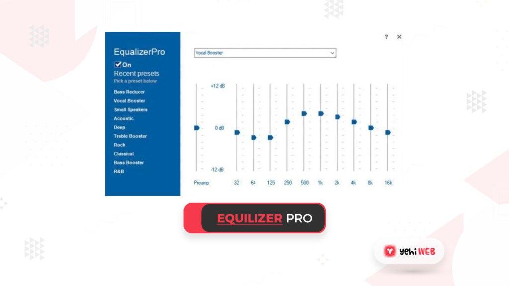 Equalizer pro yehiweb