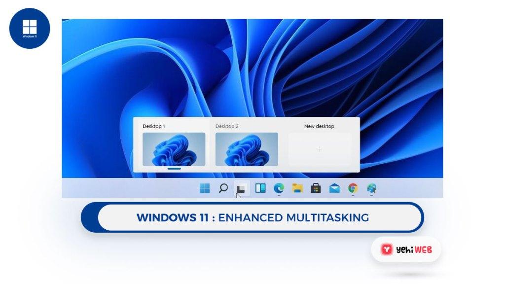 windows 11 Enhanced multitasking Yehiweb