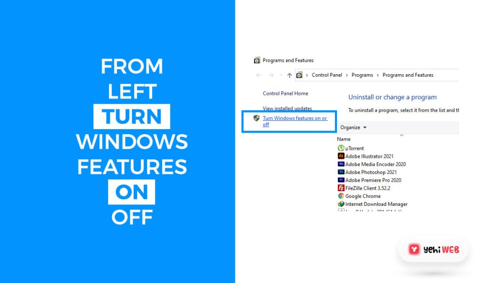 from left turn windows features on off yehiweb