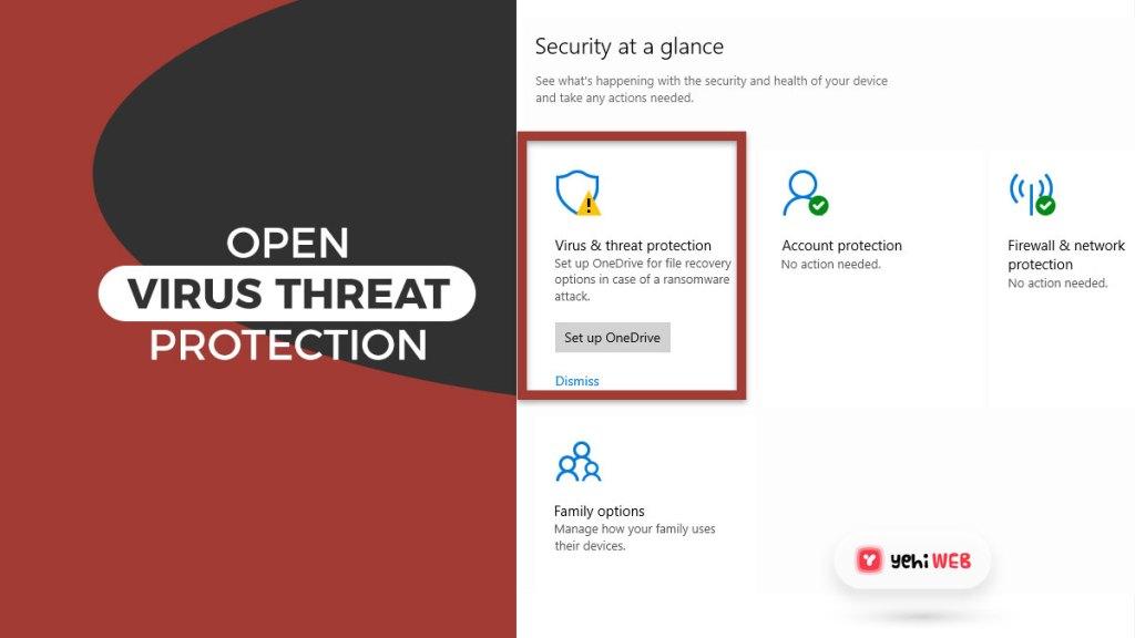 open virus threat protection yehiweb