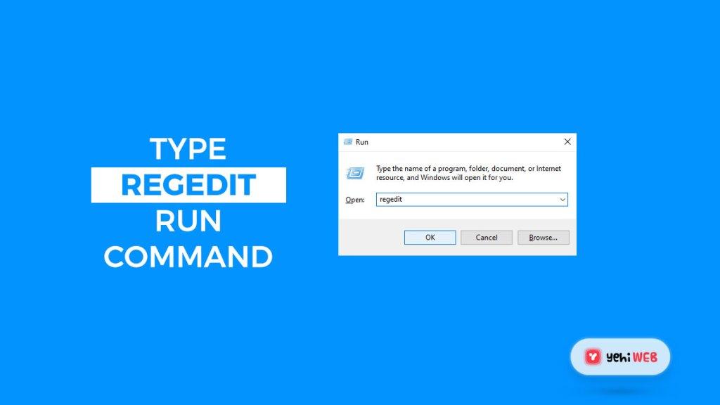 type regedit run command yehiweb