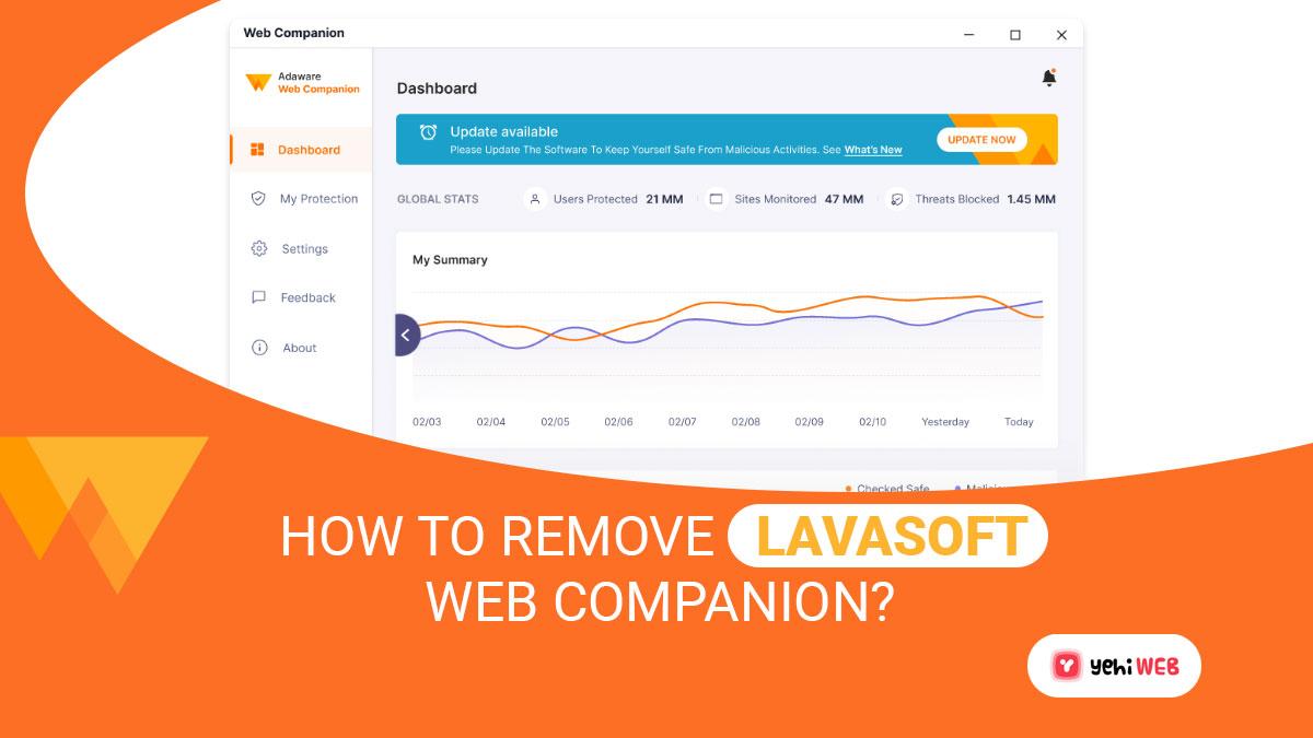 How To Remove Lavasoft Web Companion?