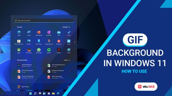 how to use gif background in-windows 11 yehiweb