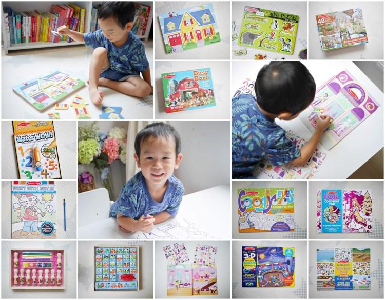 [親子] 美國第一大幼教玩具-瑪莉莎Melissa & Doug(地板拼圖、畫冊、貼紙簿、有聲拼圖)
