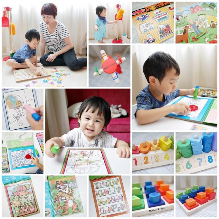 [親子] 美國第一大幼教玩具-瑪莉莎Melissa & Doug(水畫本、聲音拼圖、益智積木)