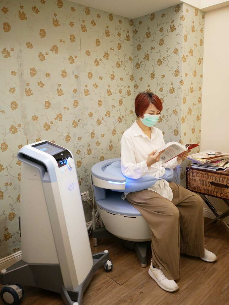 [醫美] G動椅-非侵入式改善產後漏尿、頻尿問題(仁愛星和診所/東區醫美-武洵白醫師)