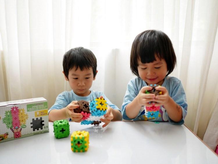 [親子] 組合方式最多的積木-WOOHOO心心積木